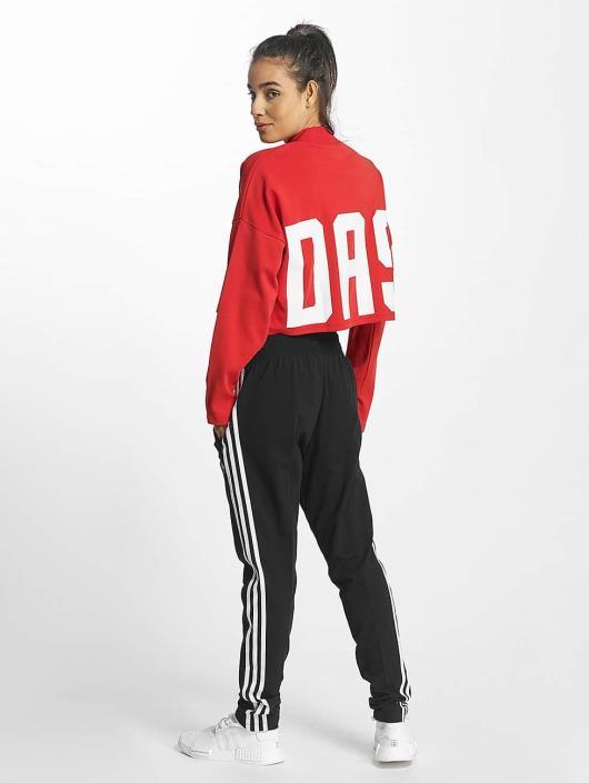 adidas originals Gensre Croppped High Neck red
