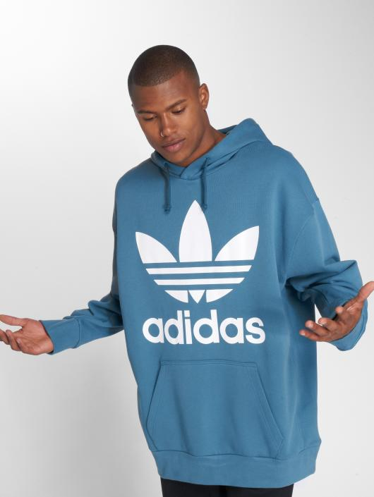 adidas originals Hoodie Tref Over Hood blue