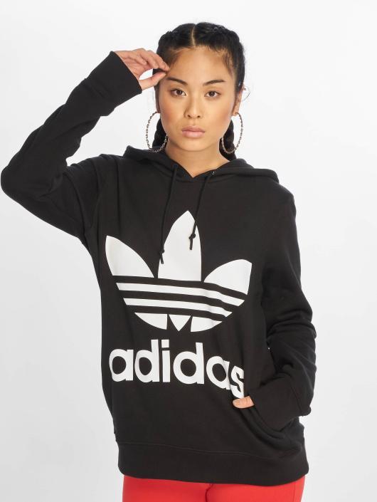 adidas originals Hoody Trefoil zwart