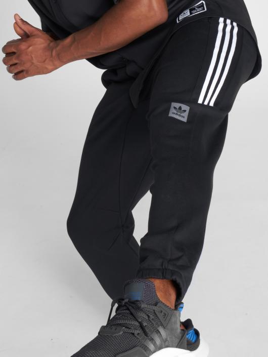 adidas originals Joggebukser Tech svart