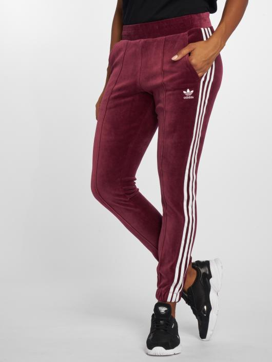 b020bd8dedef0b adidas originals Damen Jogginghose Regular Tp Cuf in rot 499355