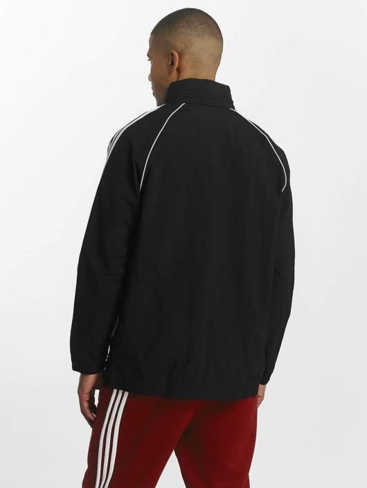 adidas Originals Kurtki przejściowe Superstar Windbreaker czarny