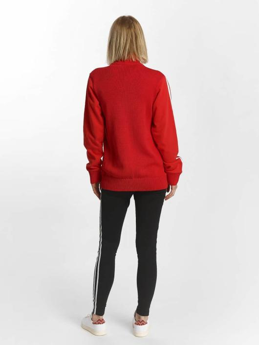 adidas originals Kurtki przejściowe Originals Track Top czerwony