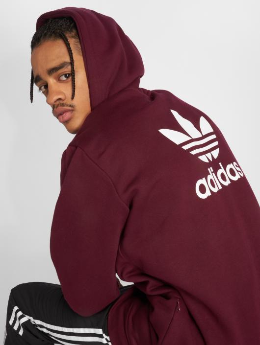adidas Originals Kurtki przejściowe Trf Flc Hoodie czerwony