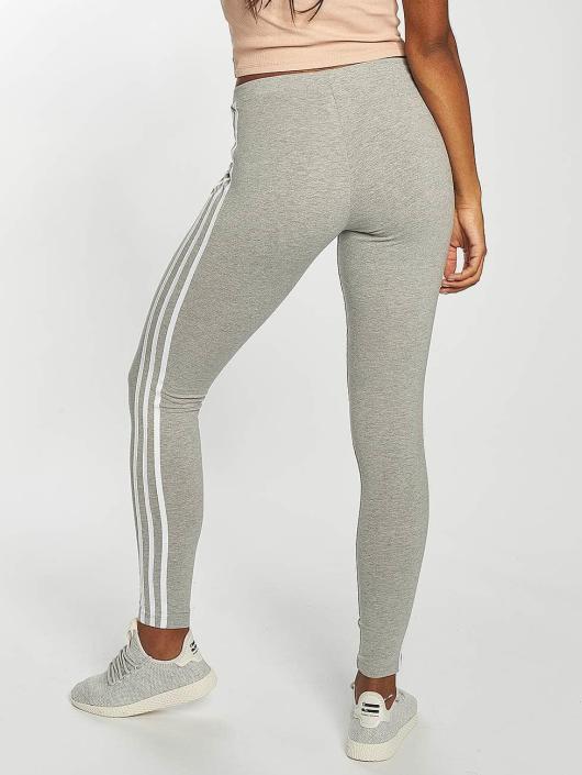 52e9a89ddad adidas originals Damen Legging 3 Stripes in grau 436011