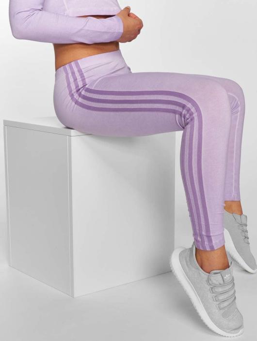 adidas originals Byxor   Leggings 3 Stripes i lila 461206 d1a5e920aa01f