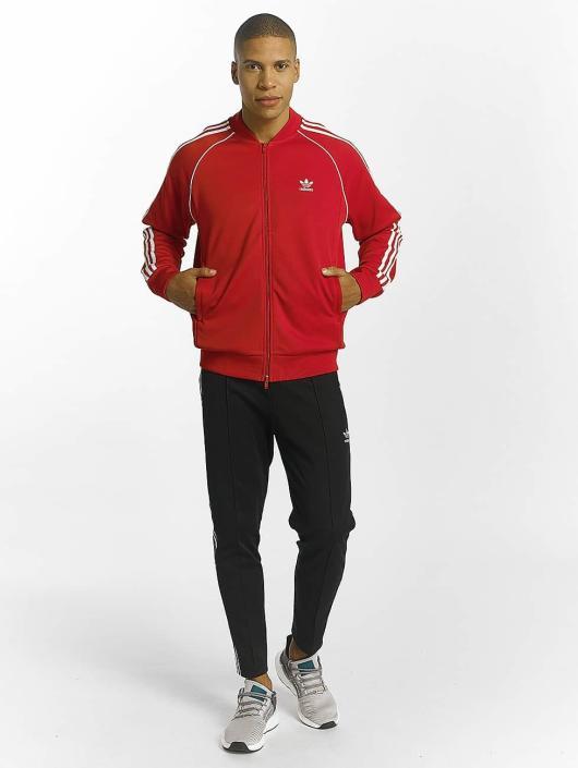 adidas originals Lightweight Jacket Superstar red
