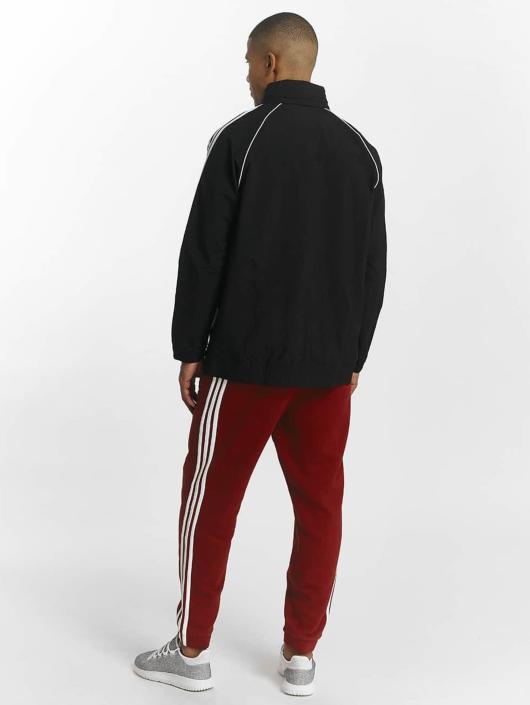 adidas Originals Prechodné vetrovky Superstar Windbreaker èierna