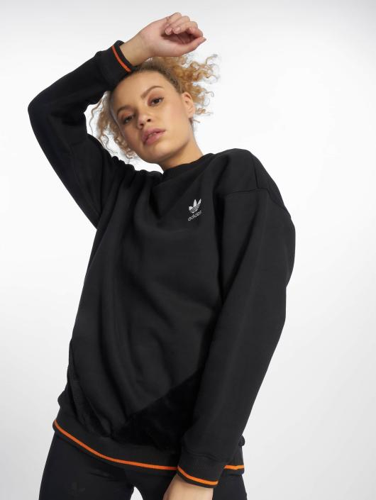 adf2339104aa3d adidas originals Damen Pullover Clrdo Sweater in schwarz 499307