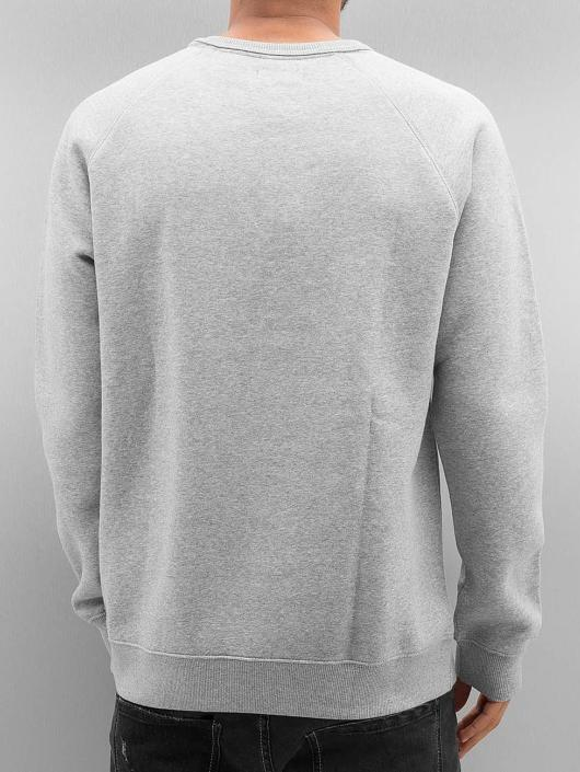 adidas originals Pulóvre Trefoil Fleece šedá