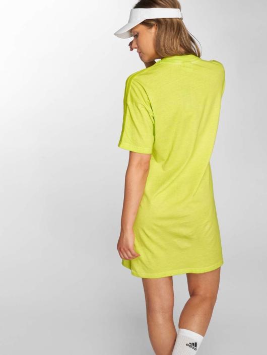 adidas originals Robe Long Neon jaune