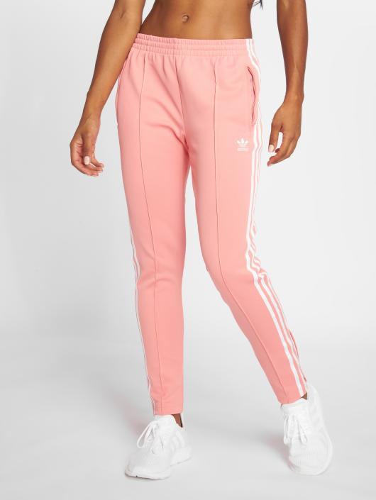 adidas originals Spodnie do joggingu Sst Tp rózowy