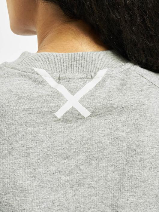 af20b2aa8d Sweat Gris amp; 552925 Xbyo Femme Adidas Originals Sweatshirt Pull wqHCtwRX