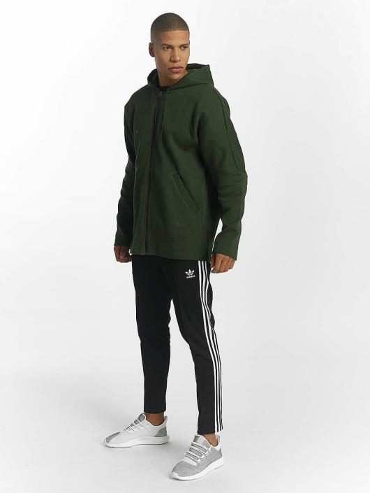 adidas originals Sweat capuche zippé NMD olive