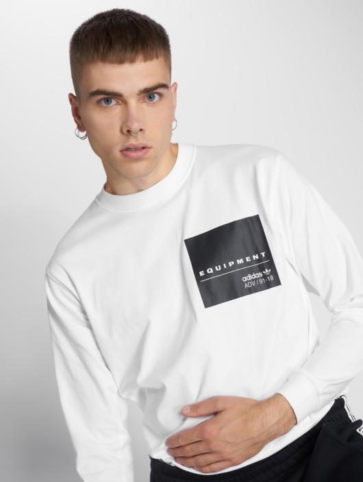 f2e3d473ebe7 ... adidas originals T-Shirt manches longues Eqt L s Gr Tee blanc ...