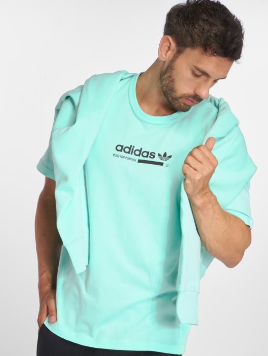 adidas originals T-Shirt Kaval Tee turquoise