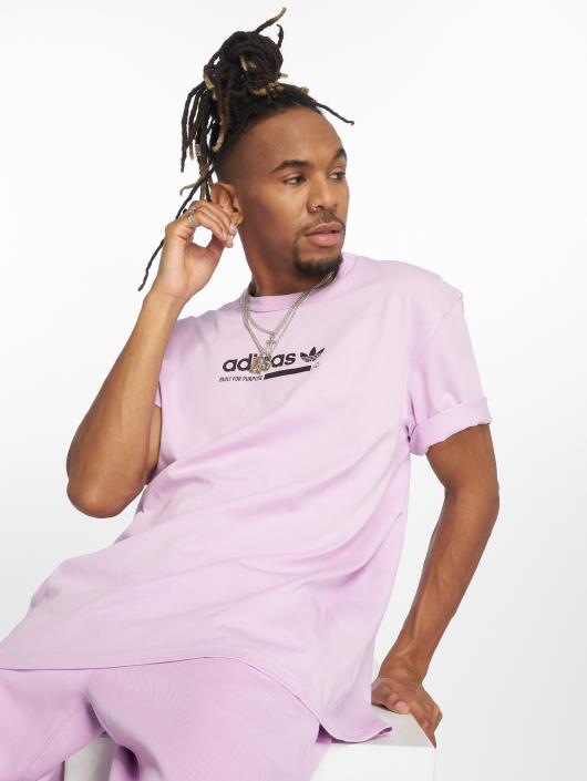 Adidas Originals Kaval Tee T Shirt Clear Lilac