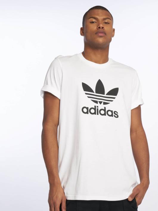 412382 Herren Trefoil Shirt In Adidas T Originals Weiß xpUqCqwg7