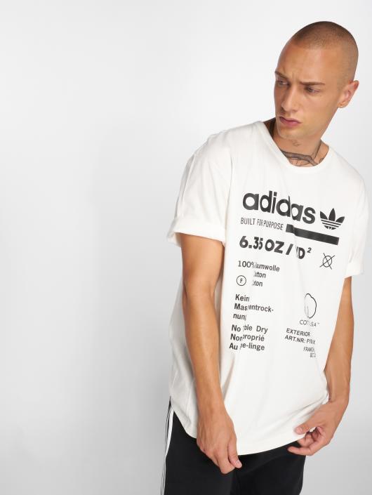 ... adidas originals T-Shirt Kaval Grp Tee weiß ... de9af67758
