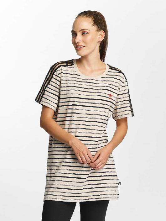 adidas originals T-Shirty Marie Antoinette brazowy