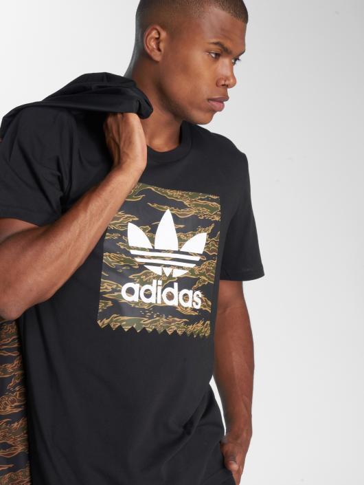 adidas originals T-Shirty Camo Bb Tee czarny