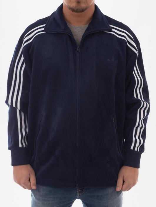adidas originals clr84 blae trainingsjacke aus velours