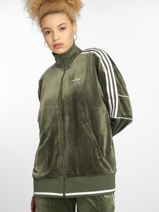 Adidas Originals Track Top Transition Jacket Base Green