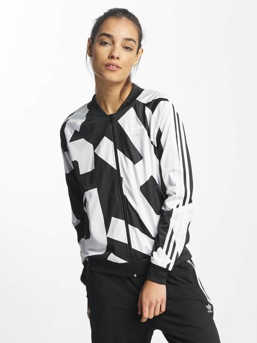 Adidas Superstar Jacke Damen in Schwarz Weiß