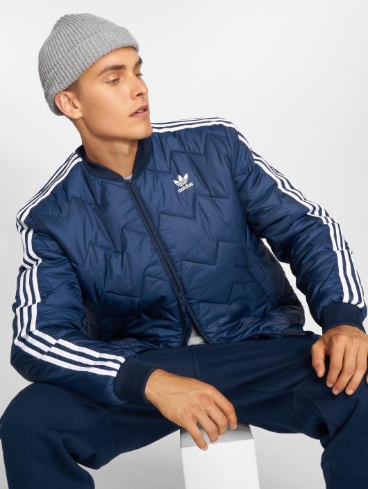 499943 Quilted Saison Bleu Homme Adidas Originals Légère Veste Sst qrrt1Av