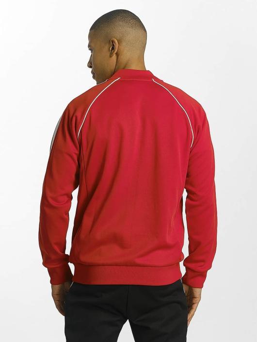 adidas originals Veste mi-saison légère Superstar rouge