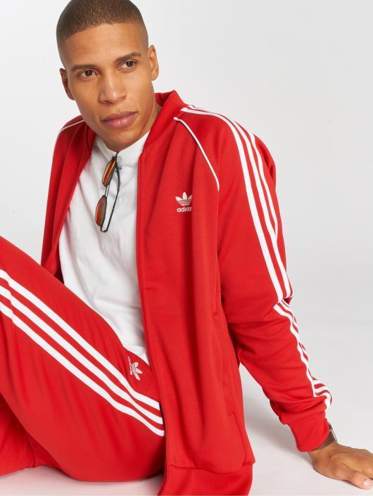 ... adidas originals Veste mi-saison légère Sst Tt Transition rouge ... f525fde803c