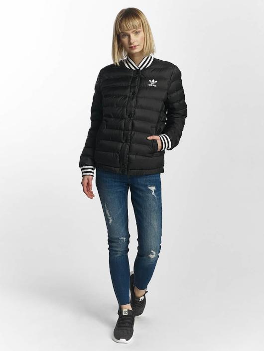 adidas originals Winterjacke Blouson schwarz