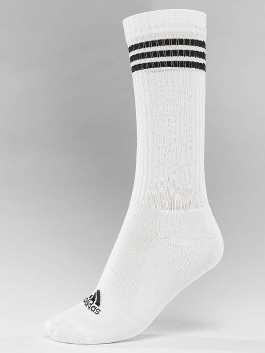 adidas Performance Chaussettes Performance 3-Stripes blanc