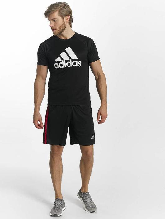 adidas Performance Szorty D2M 3-Stripes czarny