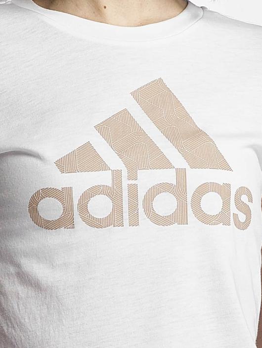 adidas Performance T-paidat Training valkoinen