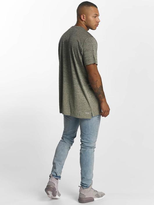 adidas Performance t-shirt Freelift Gradient grijs