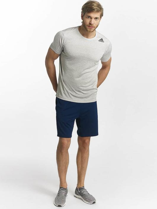 adidas Performance T-shirts Freelift Gradient hvid