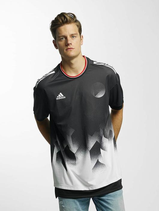 adidas Performance T-Shirty Tango Future Layered czarny
