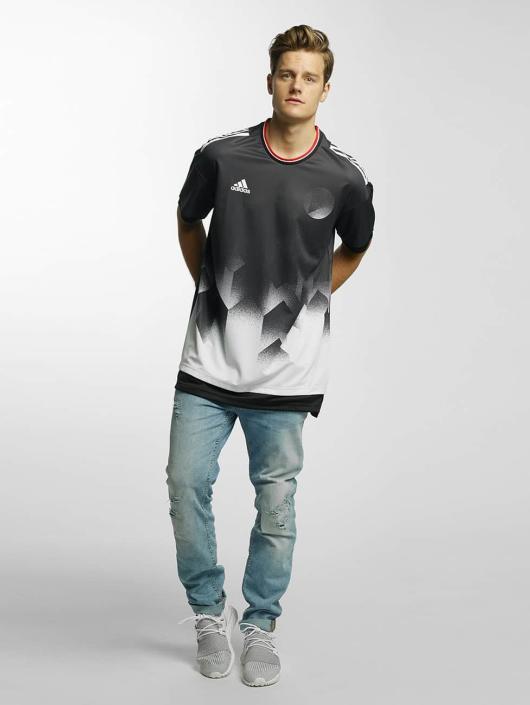 adidas Performance T-skjorter Tango Future Layered svart