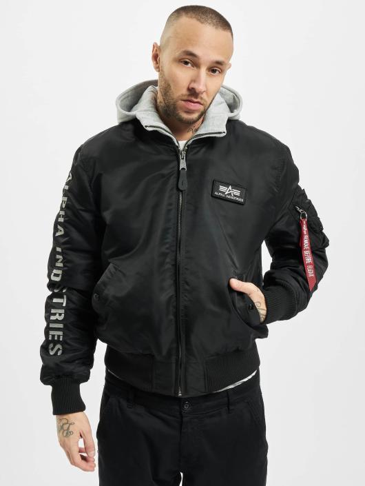 Alpha Industries Куртка   Куртка-бомбардир MA-1 D-Tec SE черный 115100 e58d853c017