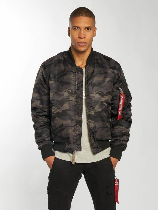 Industries 1 59 Ma Camouflage 461417 Bomber Homme Alpha Vf DH9eW2YbEI