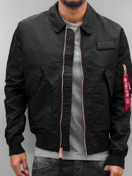 Alpha Industries Bomber jacket CWU LW PM black