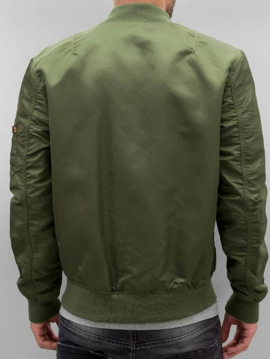Alpha Industries Bomber jacket MA-1 VF LW green