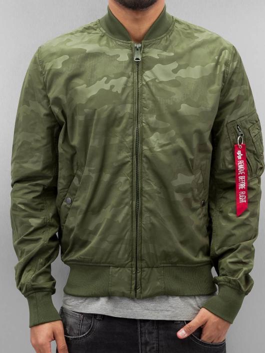 Alpha Industries Bomber jacket MA-1 TT green
