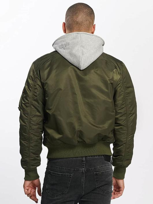 Alpha Industries Bomber jacket MA-1 D-Tec Flight green