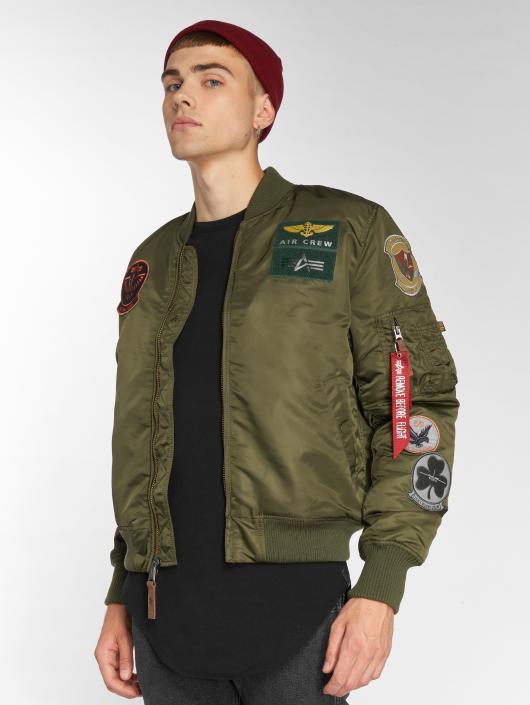 Alpha Industries Bomber MA-1 Pilot vert
