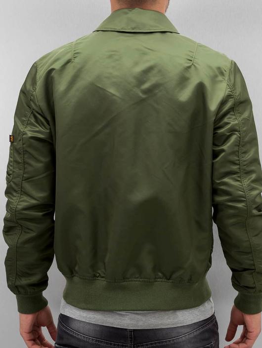 a951e1e312f Alpha Industries jas   Bomberjack CWU LW PM in groen 314993