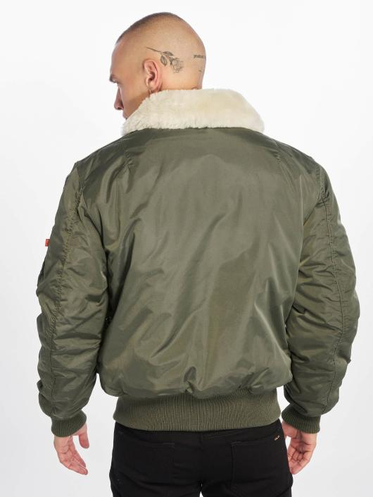Alpha Industries Bomberjacke Injector III Patch grün