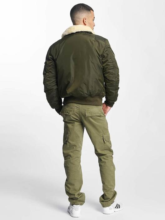 Alpha Industries Bomberová bunda Injector III Flight zelená