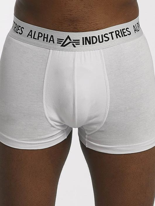 Alpha Industries Boxershorts Trunk weiß